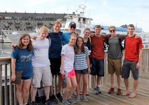 Exploring the Boston Harbor Islands in July